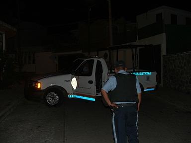 patrulla noche