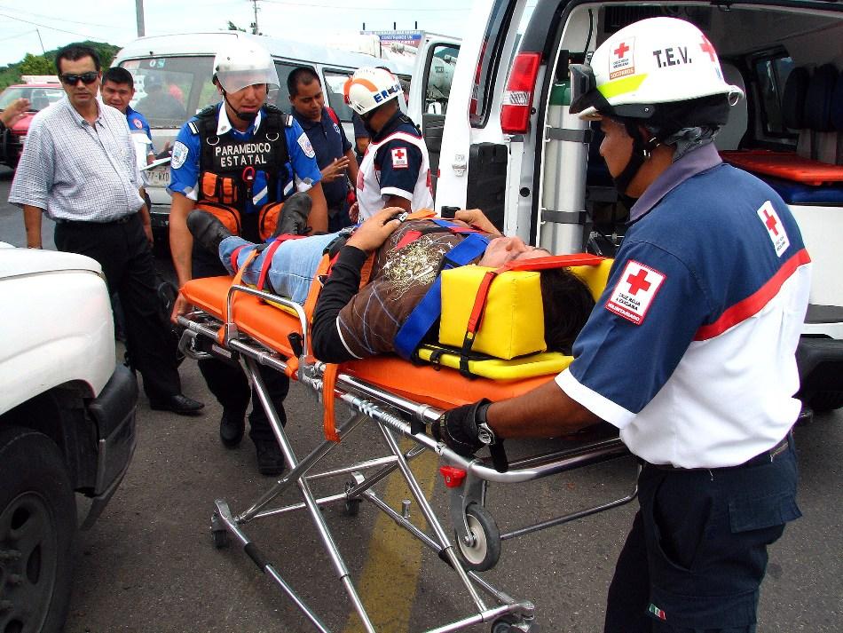 Fotos de ambulancias en accidentes 4