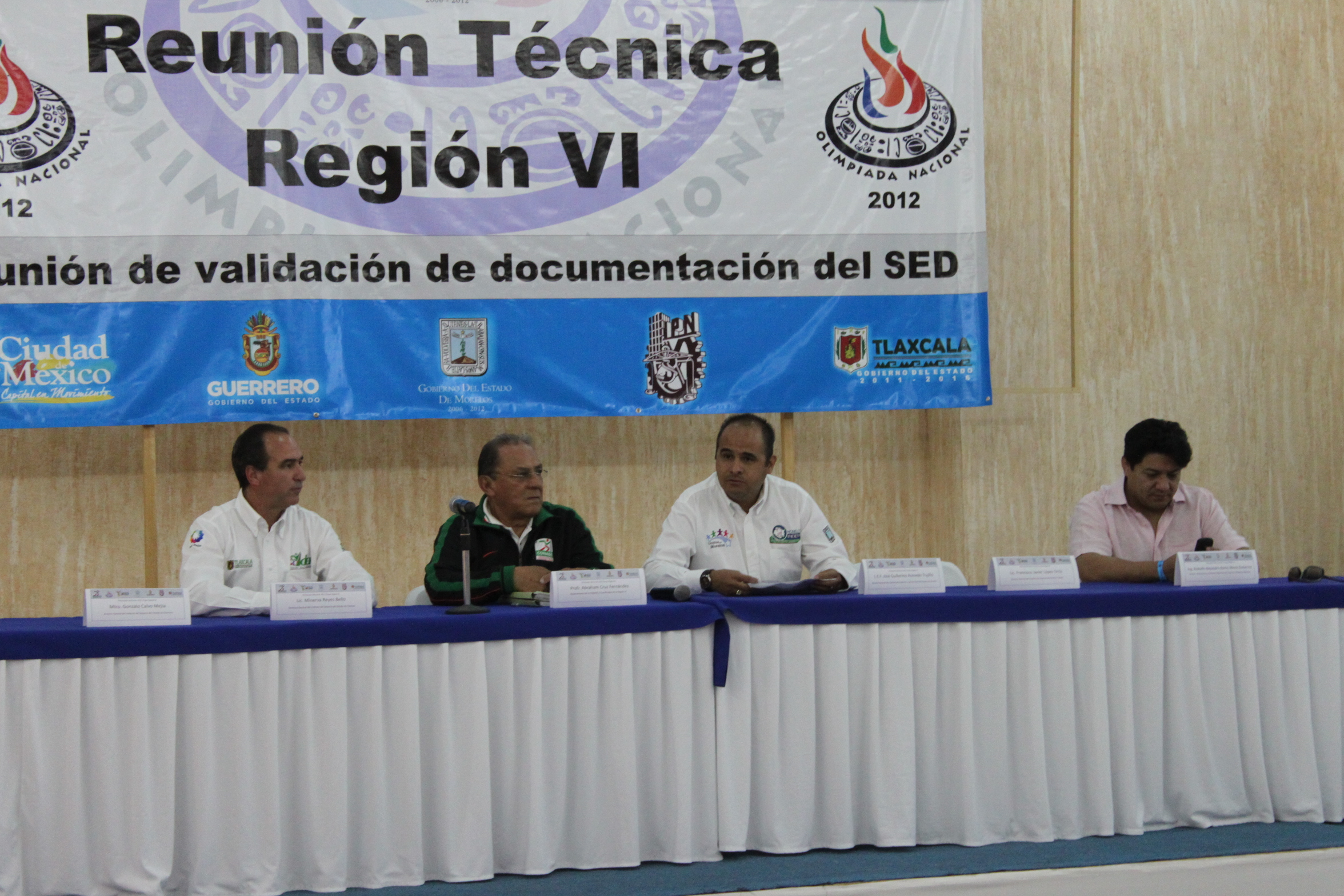 lista regional:
