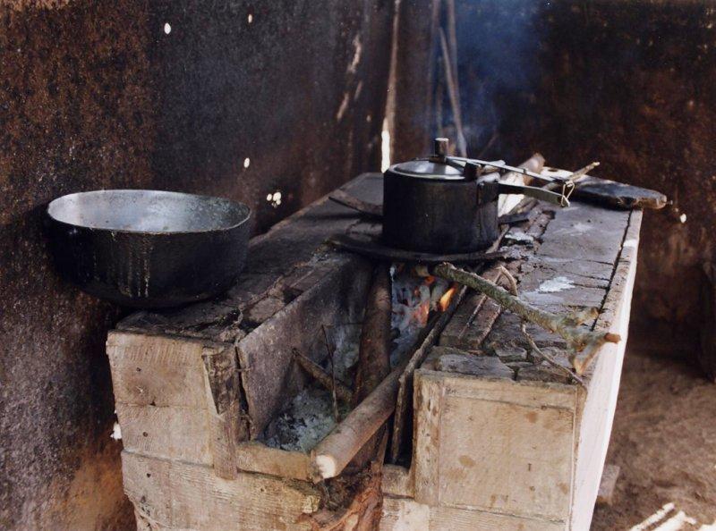 Cocinas rurales producen aeropart culas potencialmente for Cocinas rurales