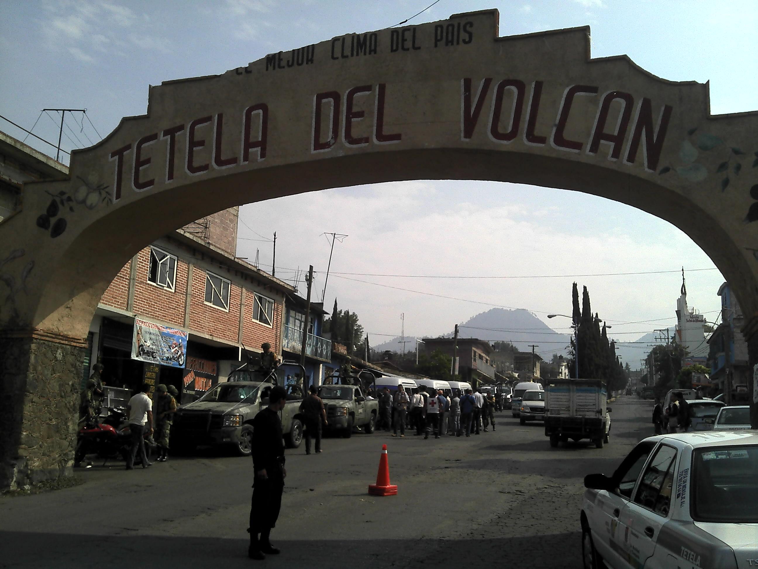 Faldas Volcan Iztaccihuatl