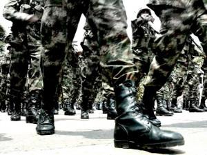 Militares_Desfile