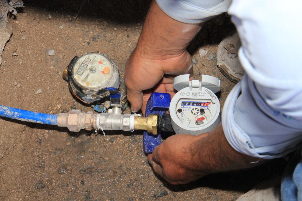 Jugoso negocio robar medidores de agua el bronce vale 50 - Medidor de agua ...