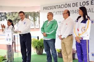 GRACO-PRESENTACION DE LOS EQUIPOS ZACATEPEC 1948 Y BALLENAS GALEANA20130716_0495