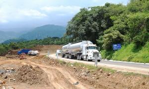 Obras de ampliación en autopista en TEPOZTLÁN 20130724_2277