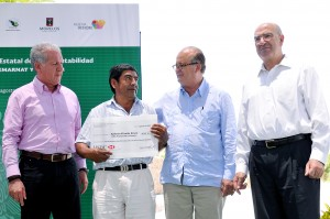 OBSERVATORIO ESTATAL DE SUSTENTABILIDAD ENTREGA DE RECURSOS SEMARNAT20130829_0068