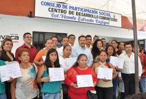 JMB en la Inauguración del CDC en la colonia Vicente Estrada Cajigal (8)