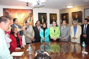 LII Boletín 1039_Diputados reciben iniciativa de Reforma Político Electoral del Poder Ejecutivo y partidos políticos.