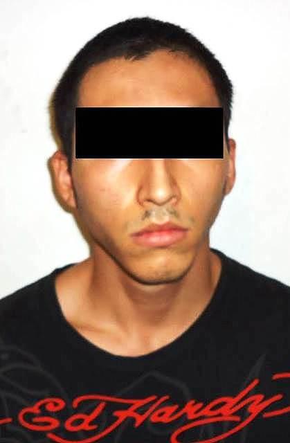 """Carlos Alberto Pérez Aranda, alias """"El Flaco"""", de 23 años de edad"""
