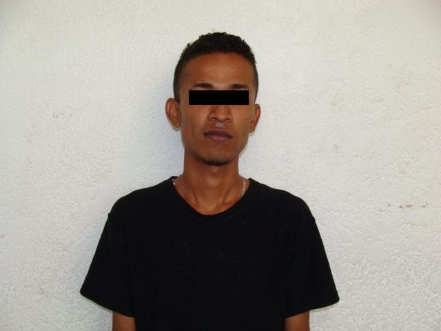 """Francisco Javier """"N"""" de 23 años"""