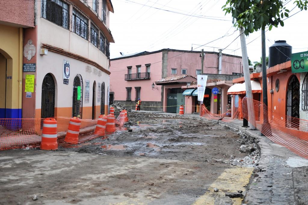 Aspectos avance de obra calle Ricardo Linares (1)