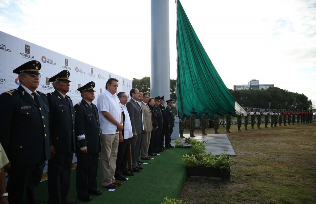4 Jorge Messeguer, Izamiento Bandera 249 Aniv. Natalicio Morelos