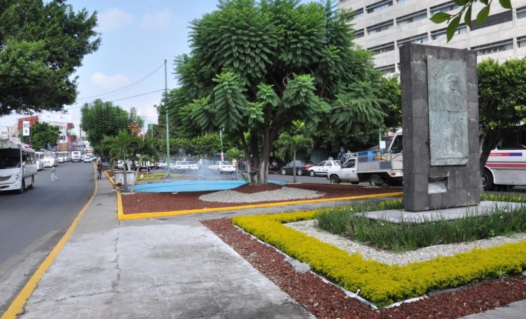 Aspectos de las Jardinera de la Avenida Plan de Ayala Frete al Seguro ( IMSS ) (5)