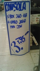 DE NUEVA CUENTA ERROR EN PRECIOS; OFRECEN TV Y X-BOX EN 6 Y 3 PESOS