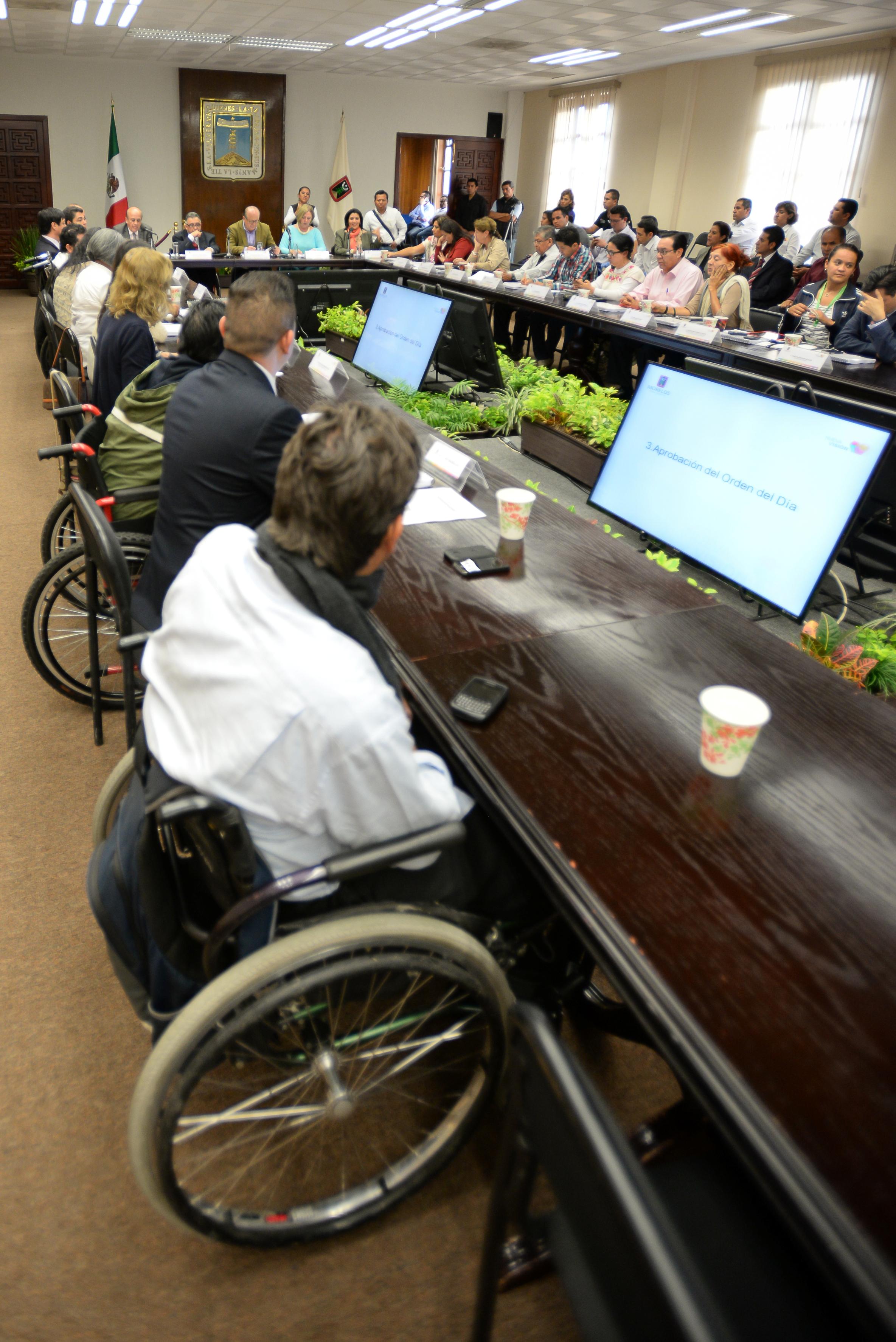 Graco, segunda sesión consejo de atención integral a personas con discapacidad.0038