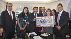 JMB Recibe el Billete Conmemorativo de los 180 Años de CUERNAVACA (3)