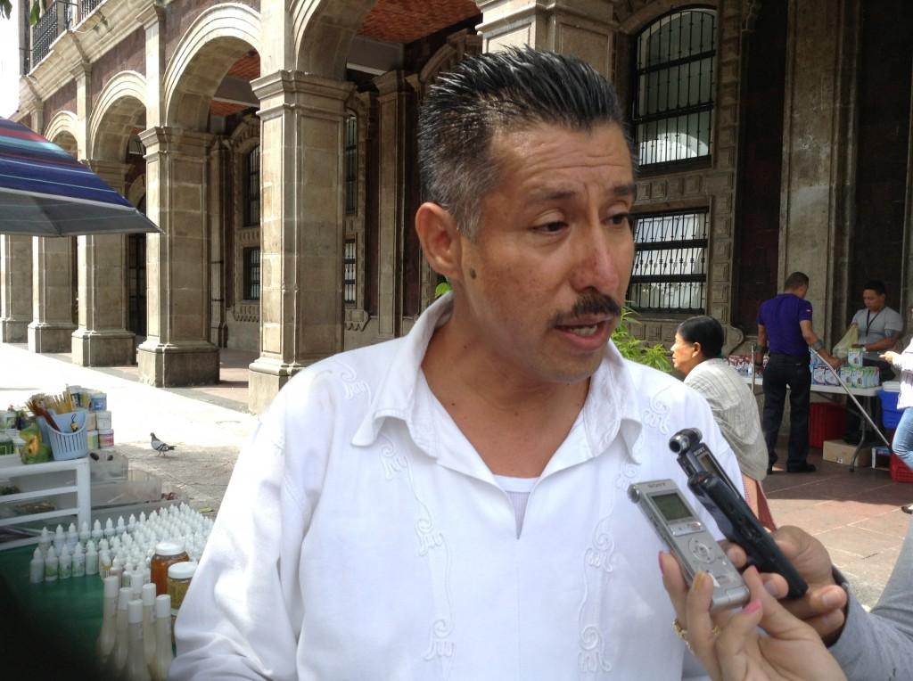 Yosmin Castillo Castrejón represente de la coalición de trabajadores de la educación