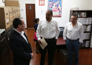 Messeguer, Reunión con consejeros locales del INE (1)