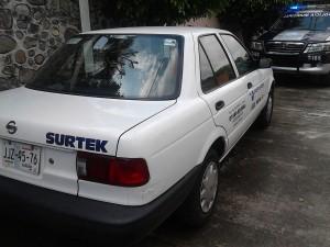 auto secuestrado en Jiutepec