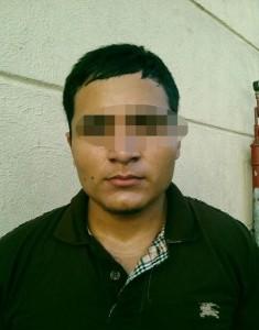 2 Israel Reyes Reyes, 20 años de edad (Acompañante), originario del Estado de Tamaulipas