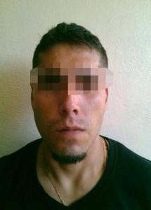 2 Luis Adrián Vega Rueda, 26 años de edad (Acompañante), originario del Estado de Guanajuato