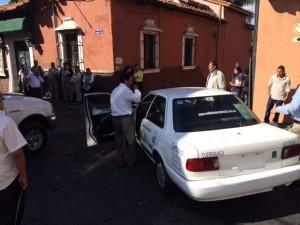 ACCIDENTE EN EL CENTRO DE CUERNAVACA