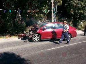 Atiende CEPCM accidente carretero en Carretera federal Cuernavaca – Cuautla Km2823