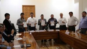 Firma del Convenio para la Construcción de la Olla Captadora de Agua del Huitzilac (1)
