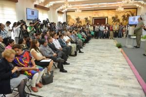 Graco Ramírez, conferencia de prensa, Casa Morelos, Noviembre, 2014 (5)