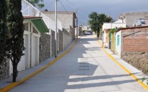 Pavimentación de la Calle Geranio Colonia Milpillas  (1)