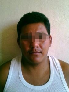 Sergio Ricardo Garza León, 29 años de edad (Acompañante), originario del Estado de Morelos.