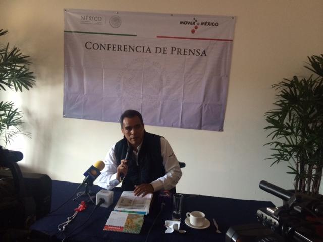delegado Comisión Nacional Forestal (CONAFOR), Arturo Rodríguez Díaz