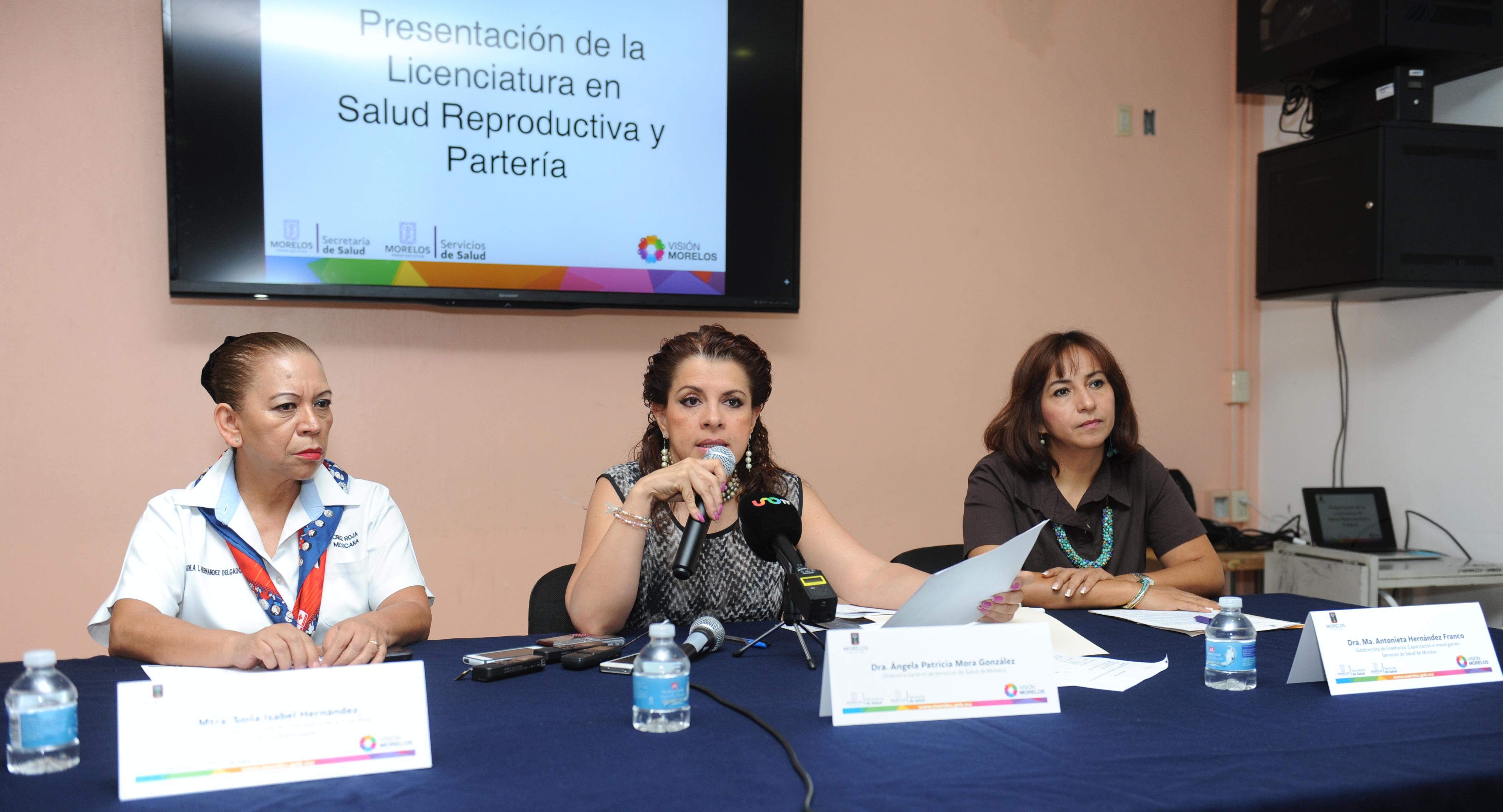 Rueda de prensa Lanzamiento de la licenciatura en salud reproductiva ypartería (1)