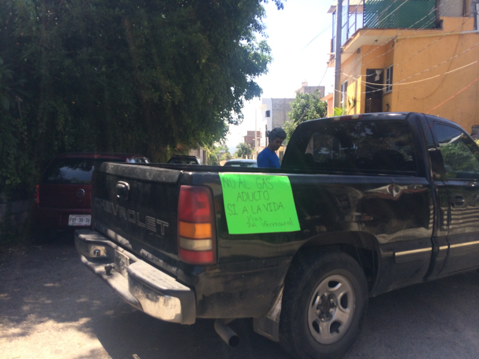 Vecinos de Tizoc impiden reanudar trabajos de gasoducto en las vías ...