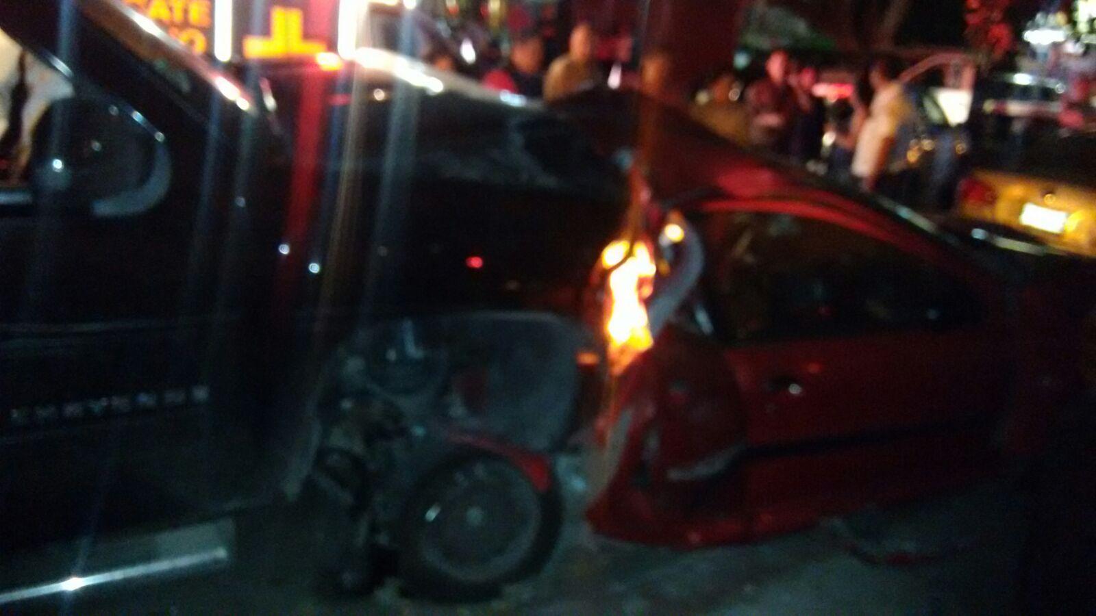 Provoca accidente vehicular el nieto del abogado Raúl ...