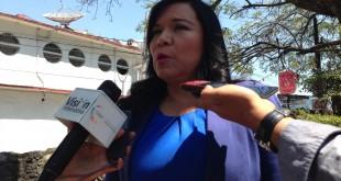 secretaría general de la sección 19 del SNTE, Gabriela Bañón Estrada
