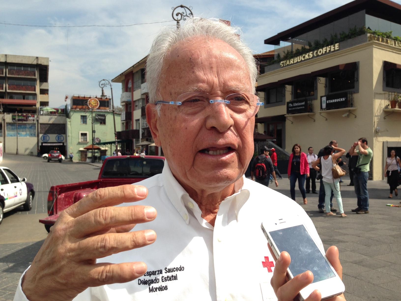José Esparza Saucedo  Cruz Roja Mexicana