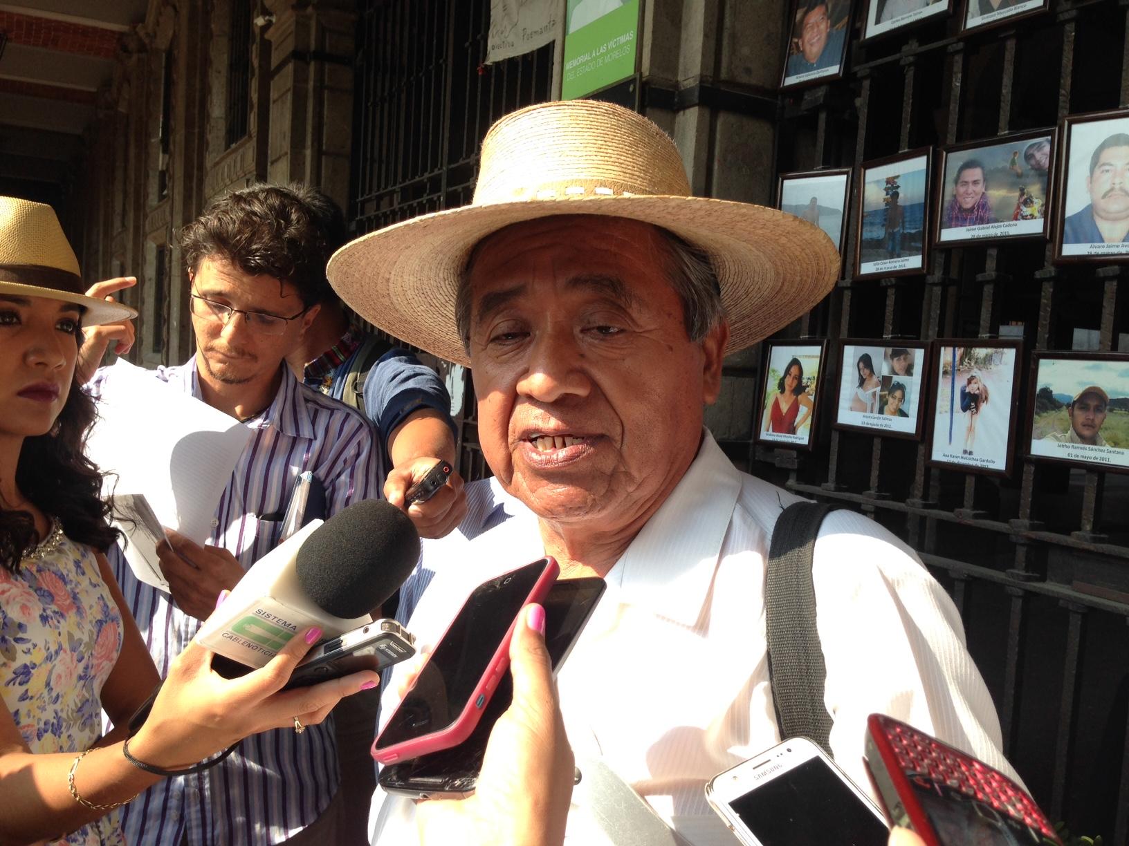 Saúl Roque Morales Asamblea Permanente de los Pueblos de Morelos (APPM)