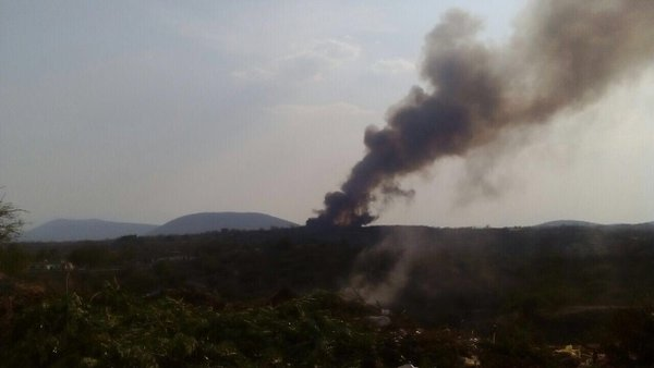 incendio basurero zacatepec