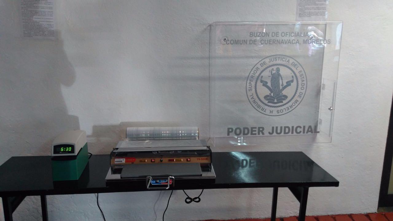 Instalan buzones judiciales en cuernavaca cuautla y - Buzones masian ortega ...