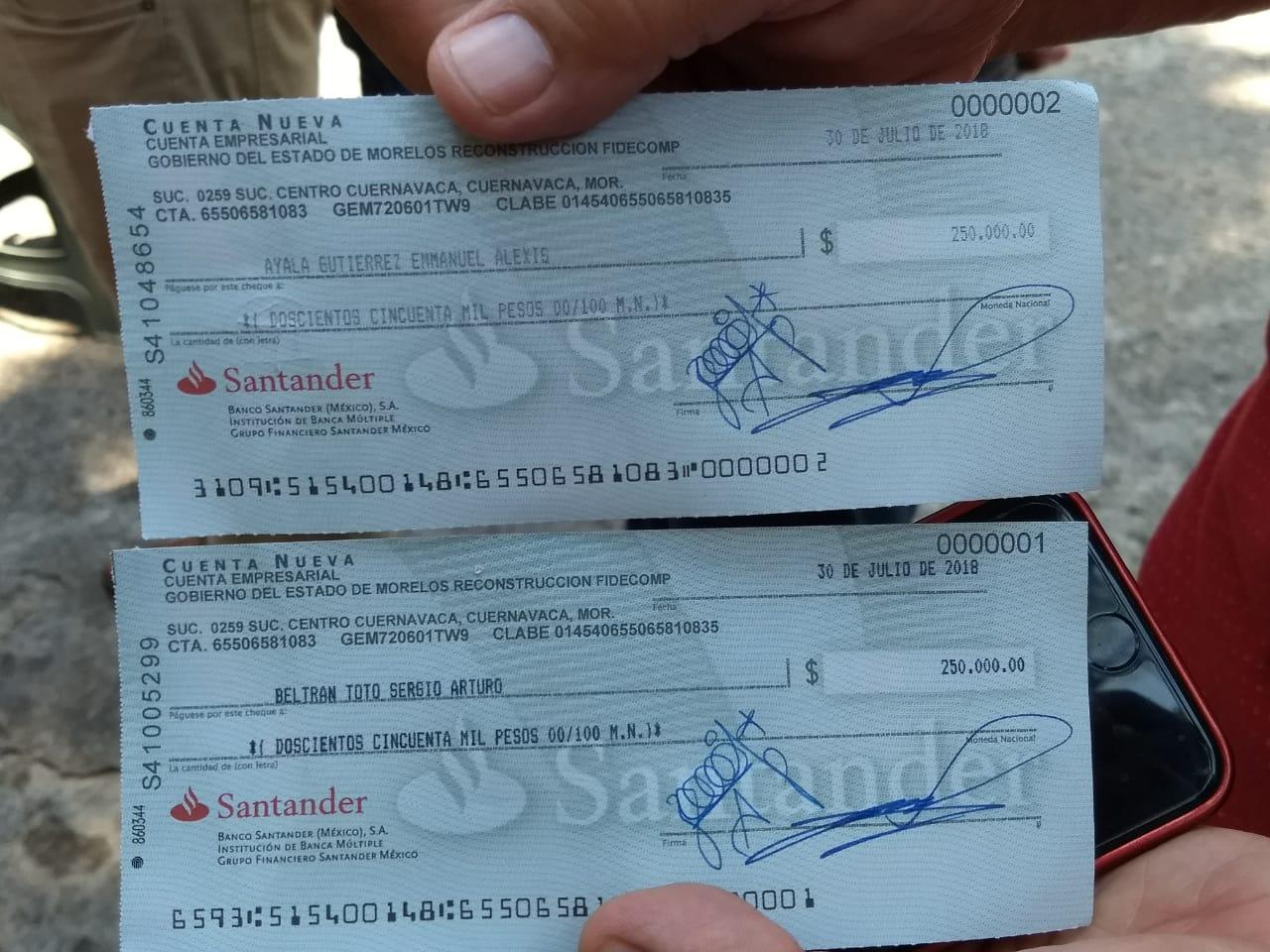 Aparecen Cheques A Nombre De Titulares Del Programa Unidos Por