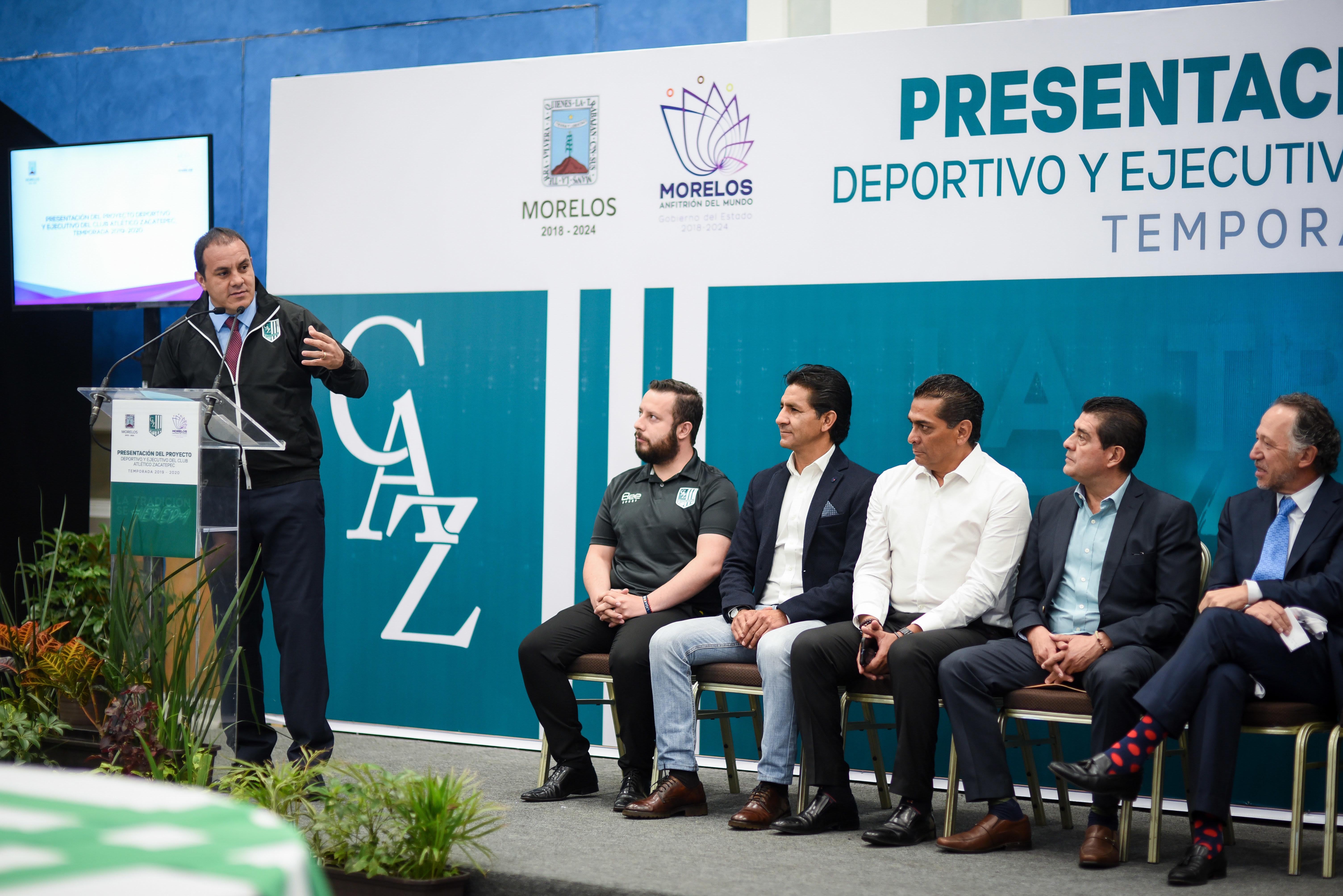 Presentan Proyecto Deportivo Y Ejecutivo Del Club Atletico Zacatepec Temporada 2019 2020 Zona Centro Noticias